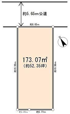 土地-坂戸市薬師町 区画図