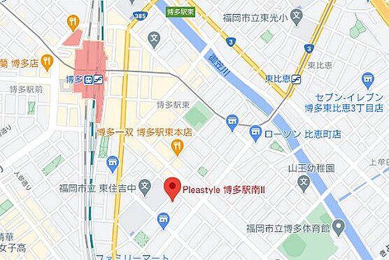 マンション(建物一部)-福岡市博多区博多駅南2丁目 地図
