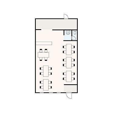 店舗(建物一部)-横浜市保土ケ谷区川辺町 間取り