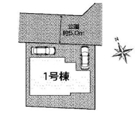 新築一戸建て-豊田市井上町2丁目 区画図
