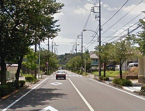 アパート-八王子市南大沢2丁目 前面道路