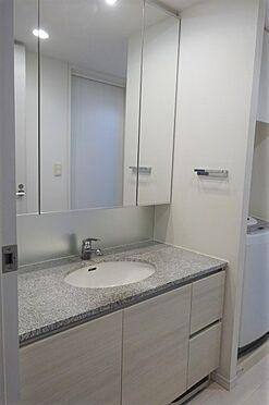 中古マンション-江東区豊洲3丁目 三面鏡付洗面化粧台