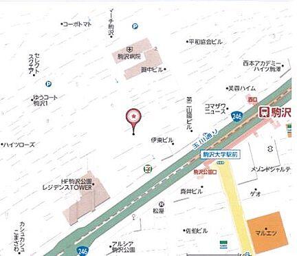 ビル(建物全部)-世田谷区駒沢2丁目 地図