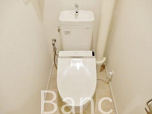 中古マンション-江東区辰巳1丁目 綺麗な高機能トイレです。