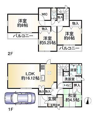 新築一戸建て-神戸市須磨区離宮前町1丁目 間取り