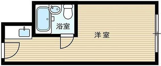 マンション(建物一部)-大阪市東淀川区東中島1丁目 シンプルなワンルーム
