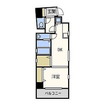 マンション(建物一部)-大阪市天王寺区四天王寺1丁目 ひとり暮らしに便利な間取り