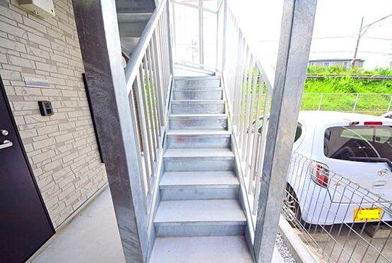 アパート-横浜市港北区大曽根1丁目 共用階段