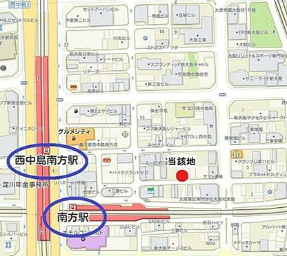 建物全部その他-大阪市淀川区西中島3丁目 間取り