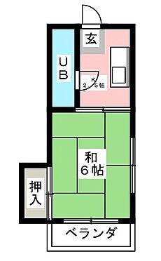 アパート-福岡市中央区平和3丁目 間取り