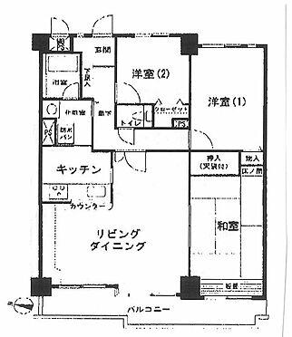 マンション(建物一部)-横浜市鶴見区北寺尾7丁目 間取り