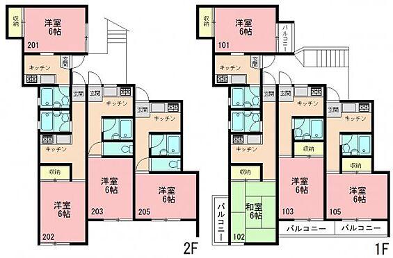 アパート-横浜市戸塚区戸塚町 間取り