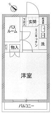 中古マンション-世田谷区経堂2丁目 間取り