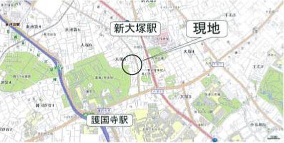 ビル(建物全部)-文京区大塚5丁目 地図