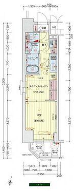 マンション(建物一部)-大阪市西区江戸堀3丁目 間取り