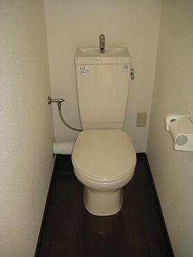 アパート-静岡市駿河区登呂1丁目 リフォーム済みのトイレです。
