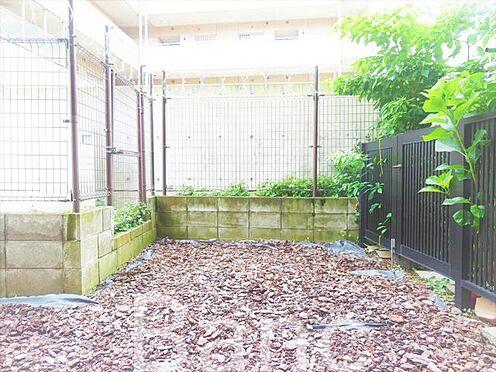 中古マンション-世田谷区下馬6丁目 東南向きの明るいお庭