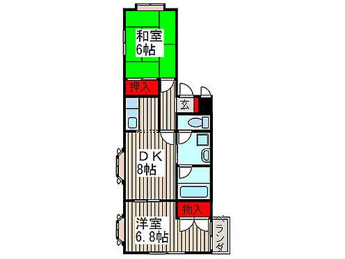マンション(建物全部)-さいたま市北区別所町 間取り