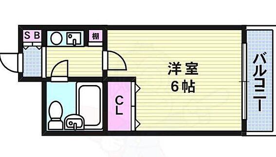 マンション(建物一部)-大阪市北区長柄西1丁目 間取り