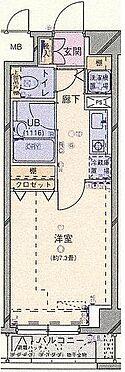 マンション(建物一部)-中央区新川2丁目 間取り