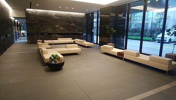 中古マンション-江東区有明2丁目 セントラルタワー1階コーチエントランスラウンジ
