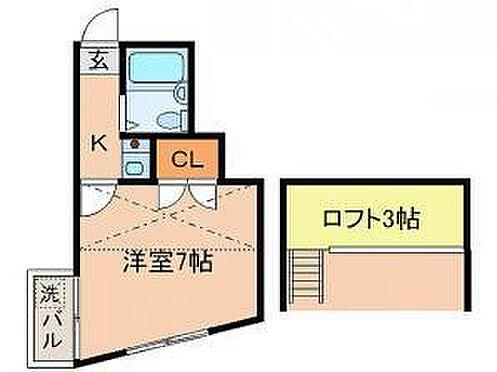 アパート-横浜市神奈川区松見町2丁目 間取り