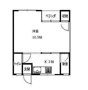 マンション(建物一部)-京都市左京区一乗寺築田町 2点セパレートの広々1R