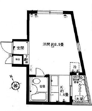 区分マンション-杉並区西荻北3丁目 ベルハイム西荻窪・ライズプランニング