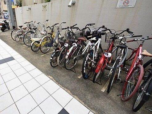 マンション(建物一部)-大阪市都島区友渕町2丁目 見通しのいい駐輪スペース