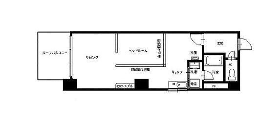 マンション(建物一部)-大阪市西区新町1丁目 使い勝手の良い間取り