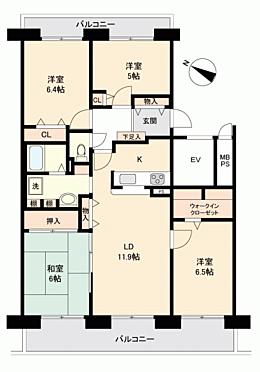 マンション(建物一部)-札幌市清田区美しが丘 間取り