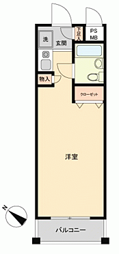 マンション(建物一部)-横須賀市三春町 間取り