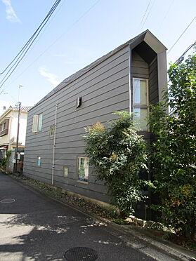 アパート-新宿区富久町 外観(北側)