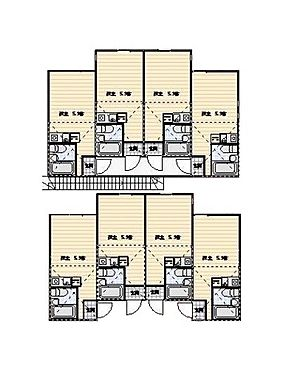 アパート-横浜市磯子区丸山1丁目 間取り