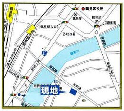 店舗(建物一部)-横浜市鶴見区本町通2丁目 地図