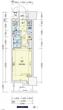 マンション(建物一部)-大阪市中央区北久宝寺町2丁目 間取り
