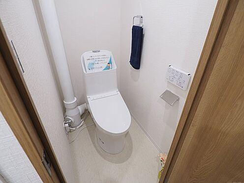 中古マンション-千葉市美浜区真砂2丁目 清潔感のあるトイレです!
