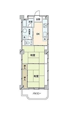 マンション(建物一部)-神戸市中央区神仙寺通4丁目 間取り