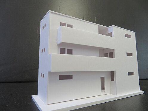 アパート-名古屋市中村区並木1丁目 外観模型