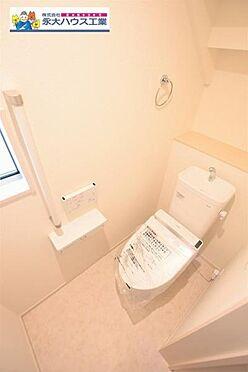 戸建賃貸-仙台市太白区柳生7丁目 トイレ
