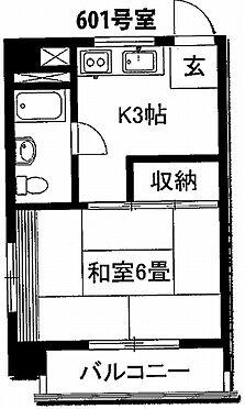 マンション(建物一部)-板橋区大山東町 間取り