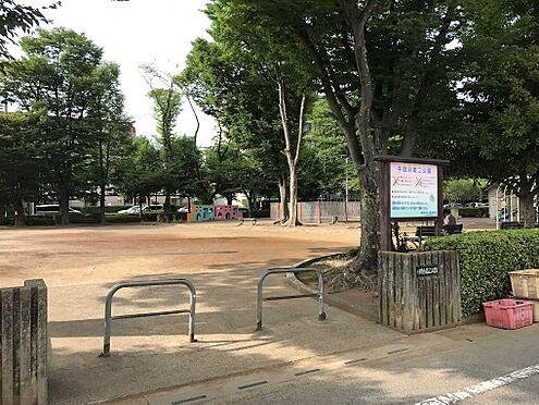 土地-越谷市大字大泊 千間台第二公園(1775m)