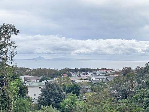 中古マンション-伊東市八幡野 ≪眺望≫ 室内から相模湾を望みます。