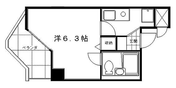 マンション(建物一部)-京都市伏見区向島本丸町 水まわりと居室をわけた暮らしやすい間取り