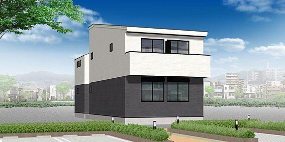 アパート-名古屋市北区水切町2丁目 外観パース 配色等、変更になる可能性もございます