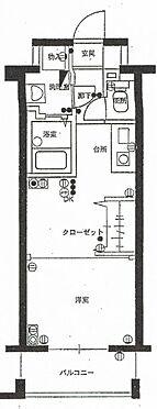 マンション(建物一部)-福岡市中央区大手門1丁目 間取り