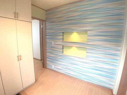戸建賃貸-岡崎市山綱町字上中野 ゆとりのある玄関で、お客様を招待したくなります。