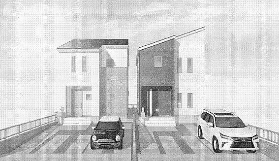 戸建賃貸-春日井市岩成台7丁目 並列駐車2台可能!
