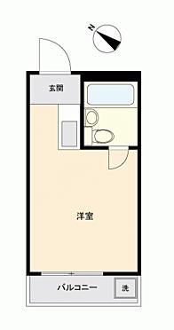 区分マンション-新宿区中落合3丁目 間取り