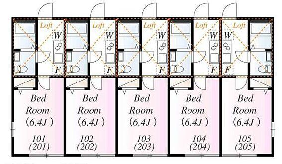 アパート-川崎市麻生区百合丘3丁目 アザーレ・キュリオス百合ヶ丘1・ライズプランニング
